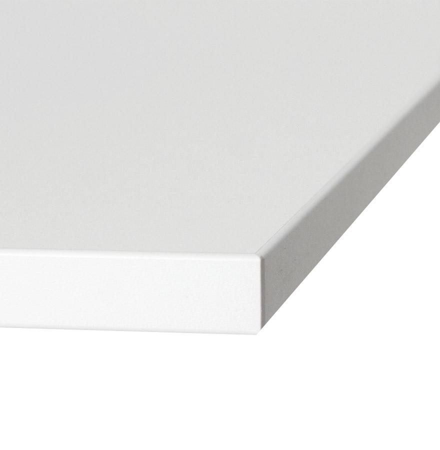 Plateau de table ´SPANO´ 80x80cm blanc carré