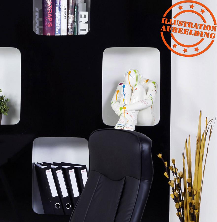 statue design splash statue d co multicolore objet d co design. Black Bedroom Furniture Sets. Home Design Ideas
