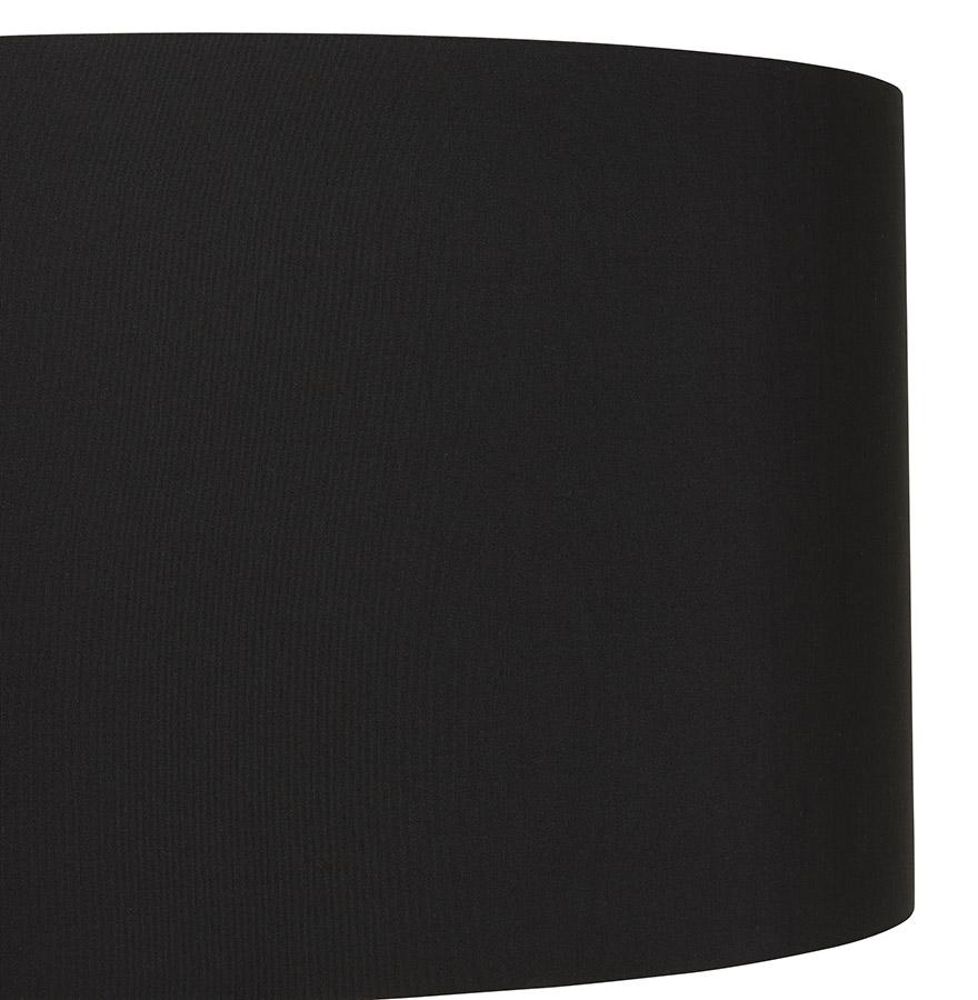 Lampe à poser design ´SPRING MINI´ avec abat-jour et trépied noir