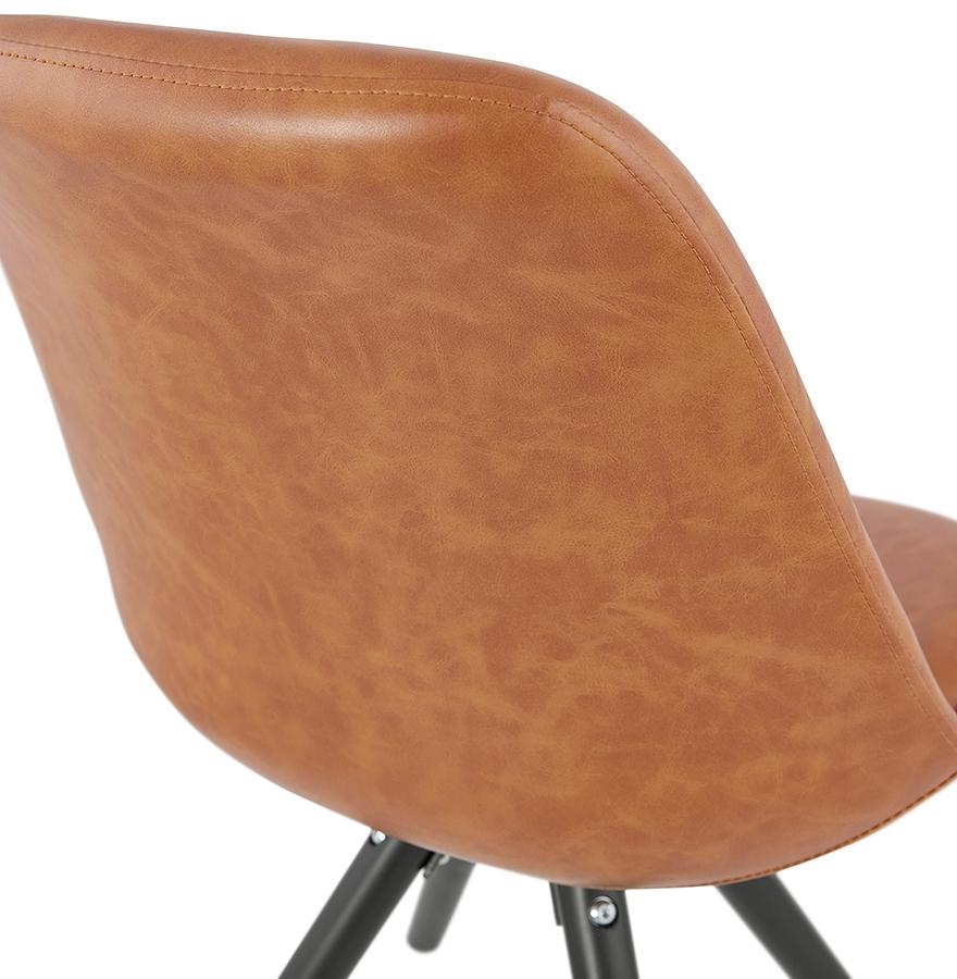stoel street bruin industri le stijl design stoel. Black Bedroom Furniture Sets. Home Design Ideas
