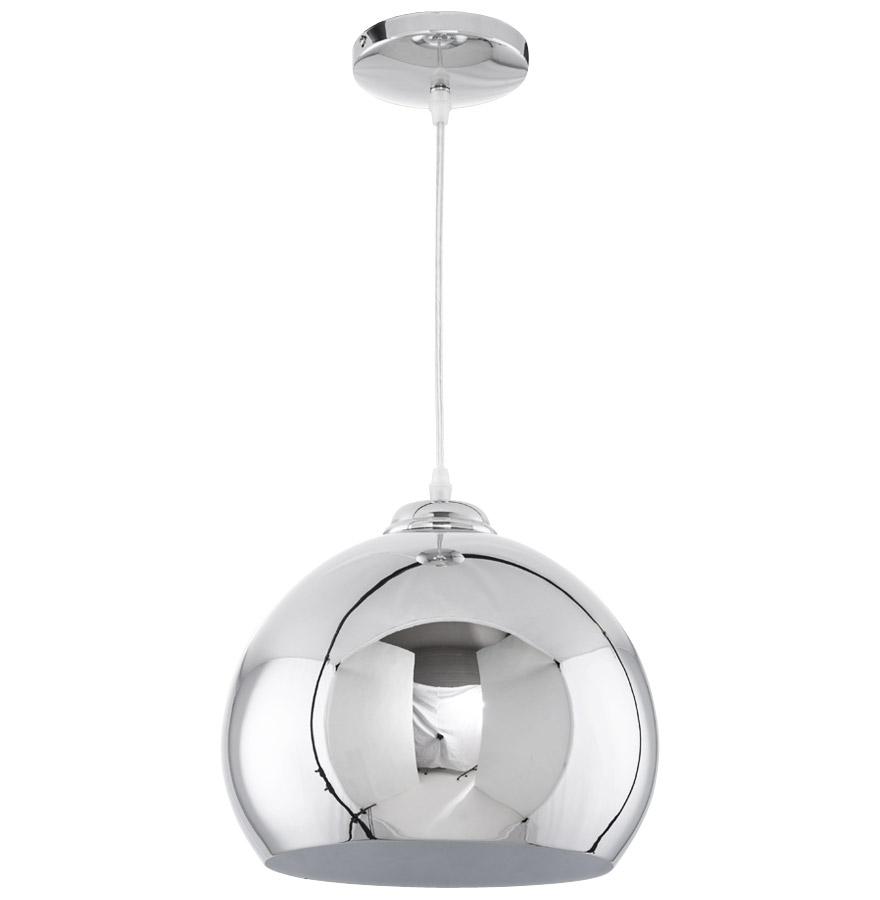 studio chrome newsite 03 1 - Suspension boule ´STUDIO´ en métal