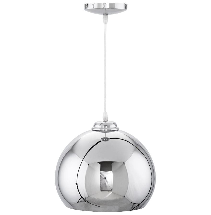 studio chrome newsite 04 1 - Suspension boule ´STUDIO´ en métal