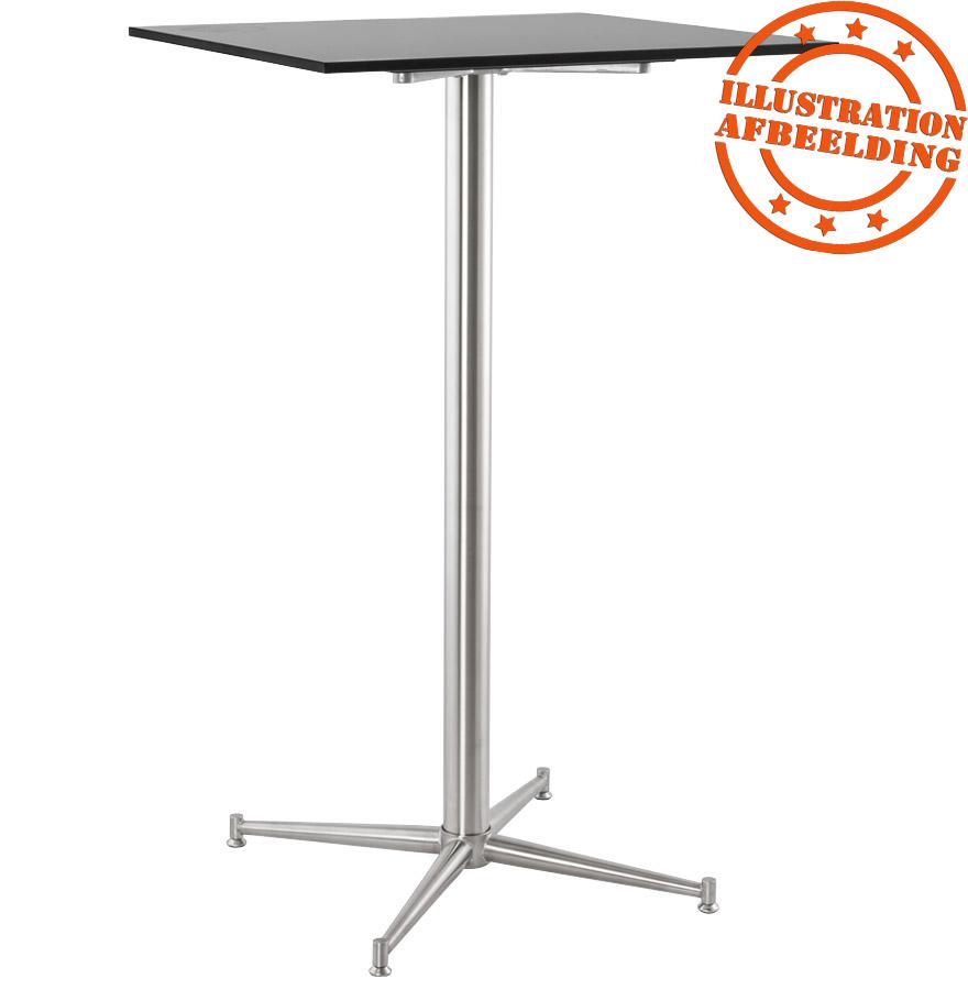 pied de table target 110 en acier inoxydable alterego design. Black Bedroom Furniture Sets. Home Design Ideas