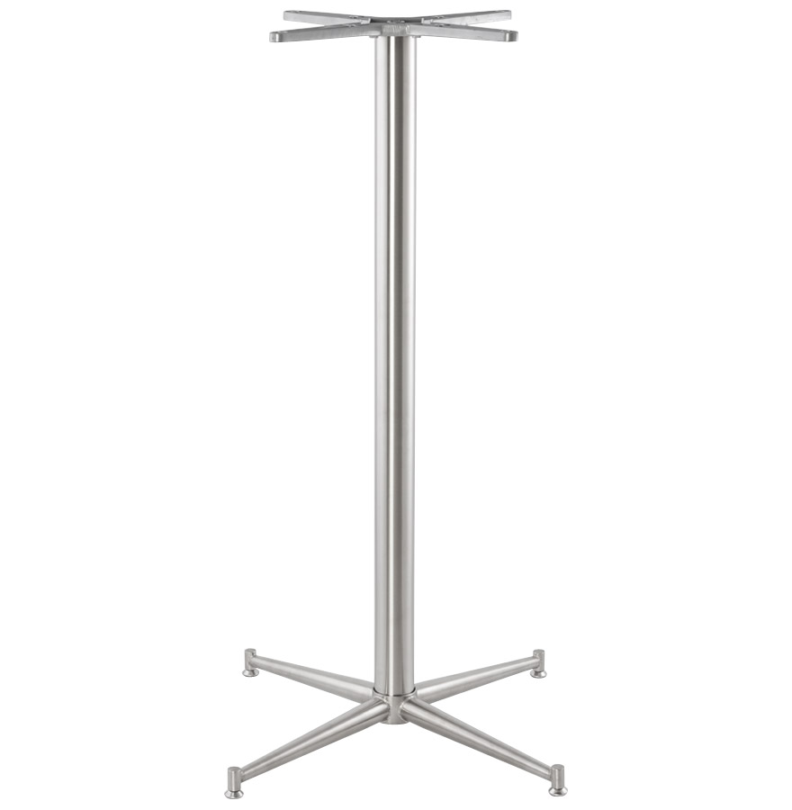 Pied de table ´TARGET´ 110 en acier inoxydable