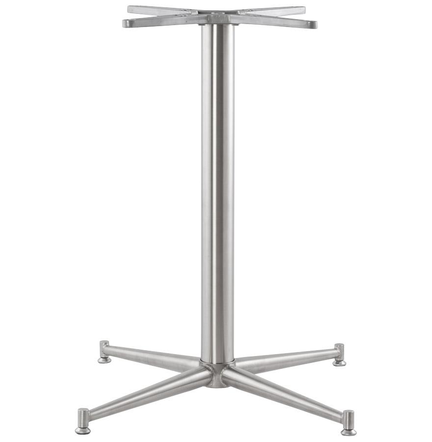 target 75 newsite 02 - Pied de table ´TARGET´ 75 en acier inoxydable