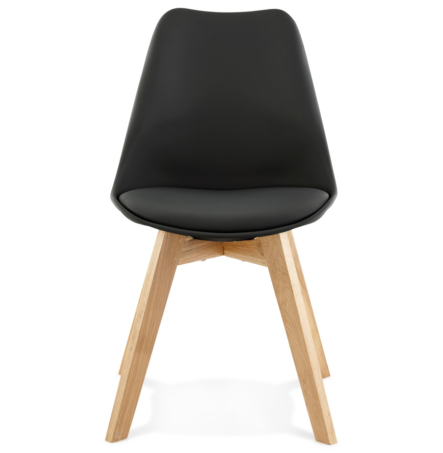 Chaise moderne ´TEKI´ noire