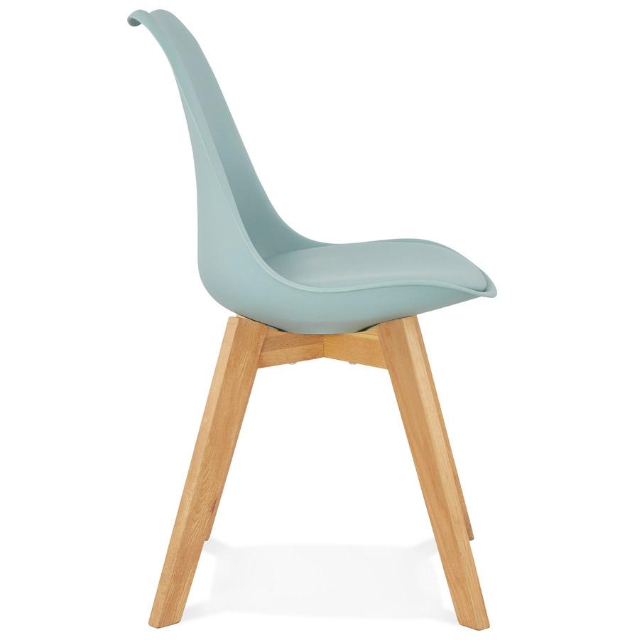Chaise moderne ´TEKI´ bleue