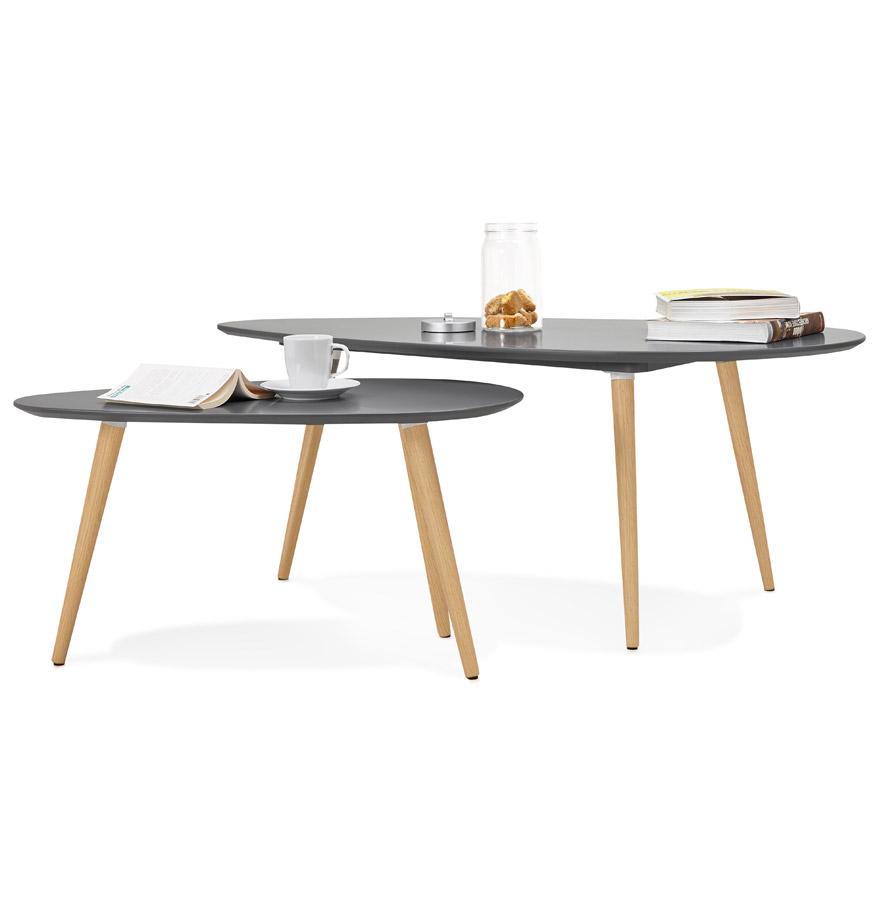 tables gigognes design tetrys grises fonc es table d 39 appoint. Black Bedroom Furniture Sets. Home Design Ideas