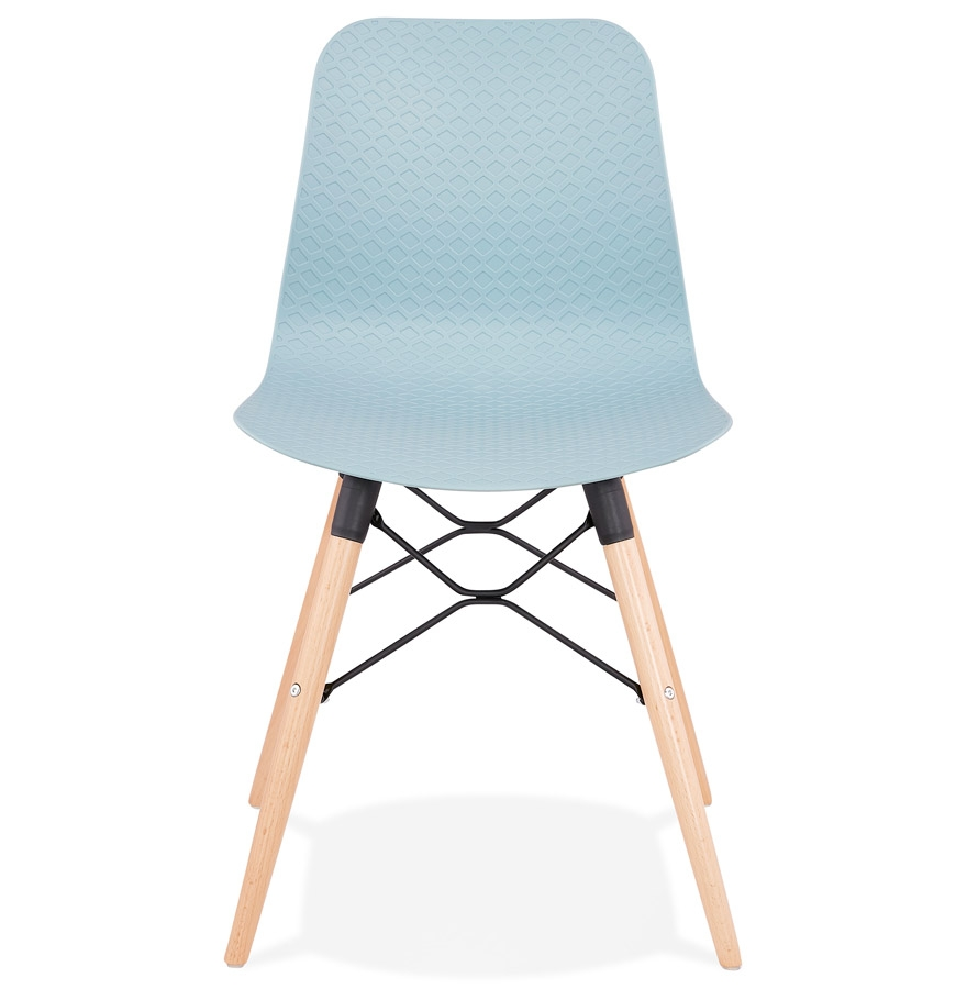 Chaise scandinave ´TONIC´ bleue design