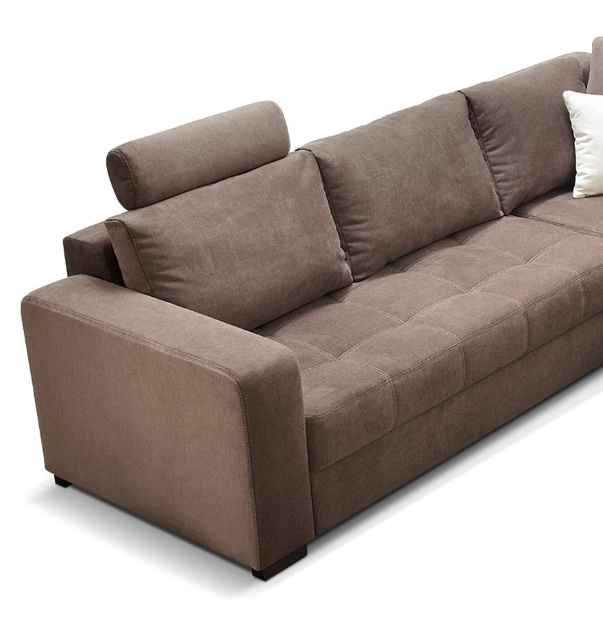 canap d 39 angle convertible tundra brun canap design. Black Bedroom Furniture Sets. Home Design Ideas