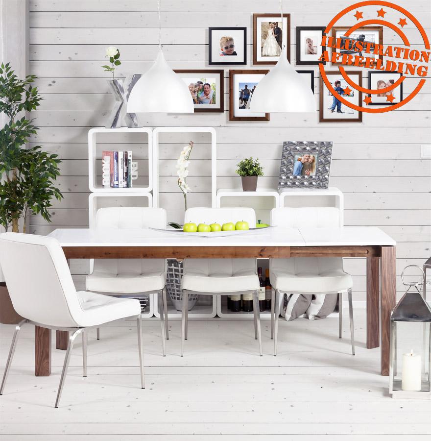 cube de rangement uno en bois blanc meuble de rangement. Black Bedroom Furniture Sets. Home Design Ideas