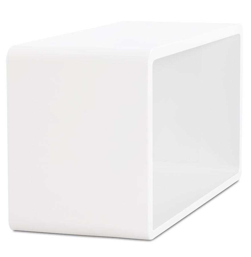 cube de rangement uno en bois blanc meuble de rangement. Black Bedroom Furniture Sets. Home Design Ideas
