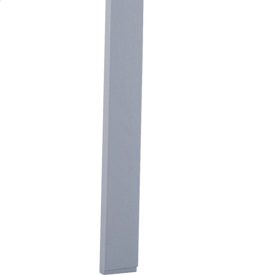viva silver grey 04 - Chaise design de terrasse ´VIVA´ grise claire en matière plastique