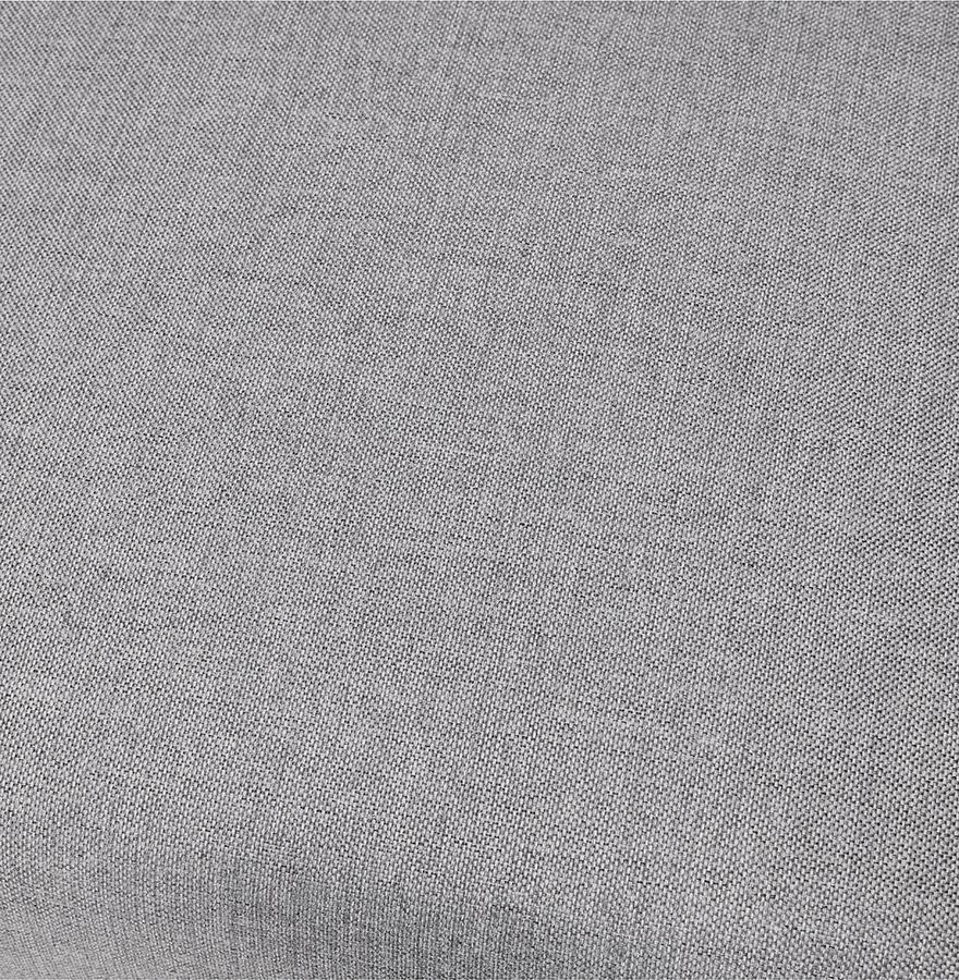 fauteuil de salon 1 place moderne vladimir mini en tissu gris clair. Black Bedroom Furniture Sets. Home Design Ideas