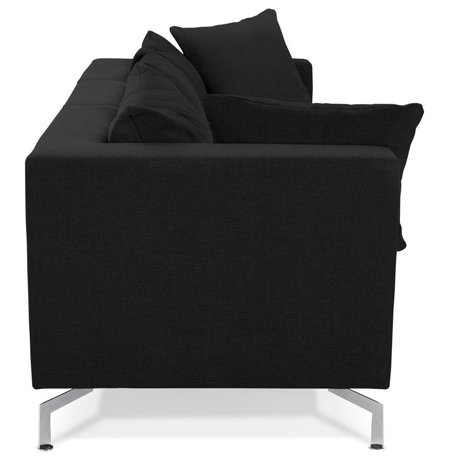 voltaire black h2 03a - Canapé modulable design ´VOLTAIRE´ noir