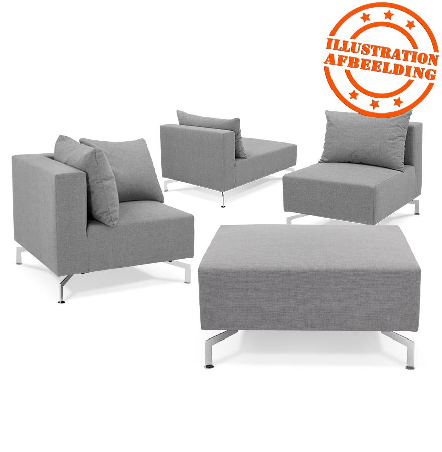 coin de canap voltaire corner gris canap modulable. Black Bedroom Furniture Sets. Home Design Ideas