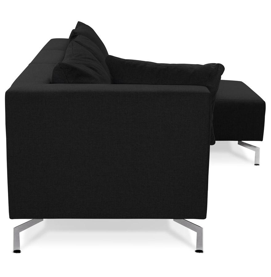 voltaire l shape black h2 03 - Canapé d´angle modulable ´VOLTAIRE L SHAPE´ noir (angle au choix)