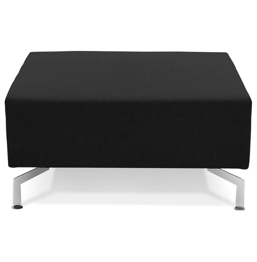 voltaire one black h2 02 - Élément de canapé modulable ´VOLTAIRE ONE´ noir - pouf de canapé