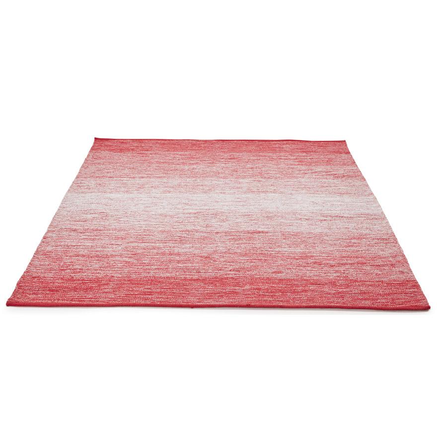 rood design tapijt wash eetkamertapijt zonder franjes. Black Bedroom Furniture Sets. Home Design Ideas