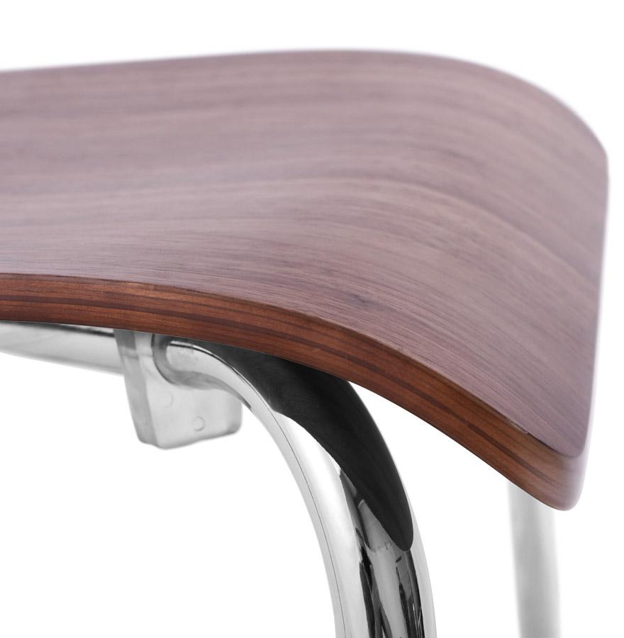 Noyer Moderne Bois 'wind' Chaise En Finition dxroeBCW
