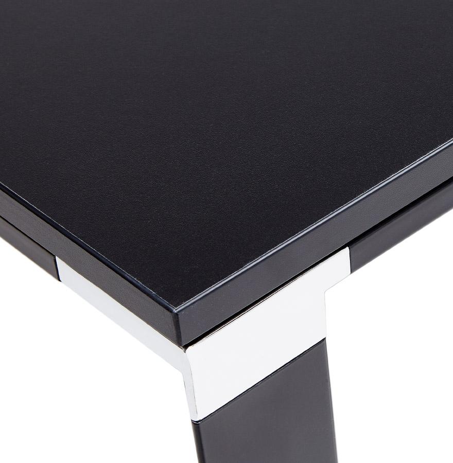 design directiebureau xline van zwart hout hoekbureau. Black Bedroom Furniture Sets. Home Design Ideas