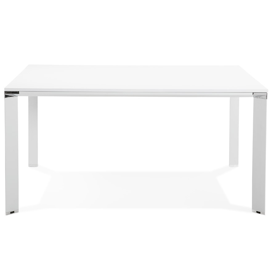Table de réunion / bureau bench ´XLINE SQUARE´ blanc - 160x160 cm