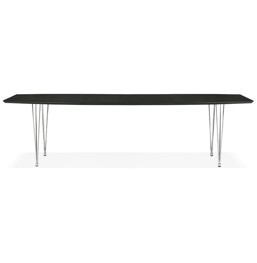 xtend black h2 gd 02 - Table à dîner / de réunion extensible ´XTEND´ noire - 170(270)x100 cm