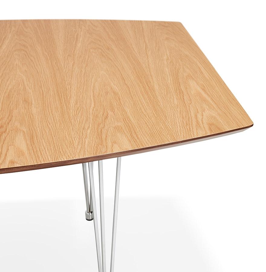 extensible cm 270 dîner Table 170 finition de réunion en bois naturelle 'XTEND' à x100 OuPXikZT
