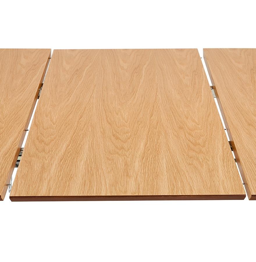 uitschuifbare eettafel vergadertafel 39 xtend 39 van hout met natuurlijke afwerking. Black Bedroom Furniture Sets. Home Design Ideas