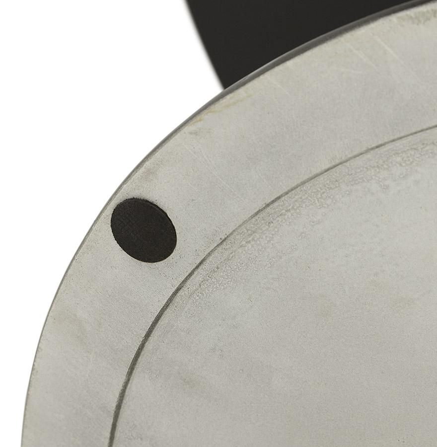 ronde zwarte design eettafel alexia design tafel 120 cm. Black Bedroom Furniture Sets. Home Design Ideas