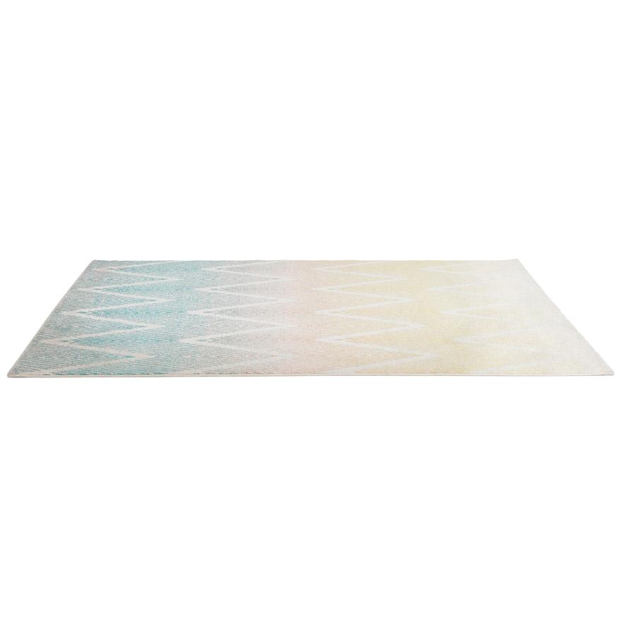 Tapis design ´ZAG´ 160/230 cm motifs zigzags multicolores