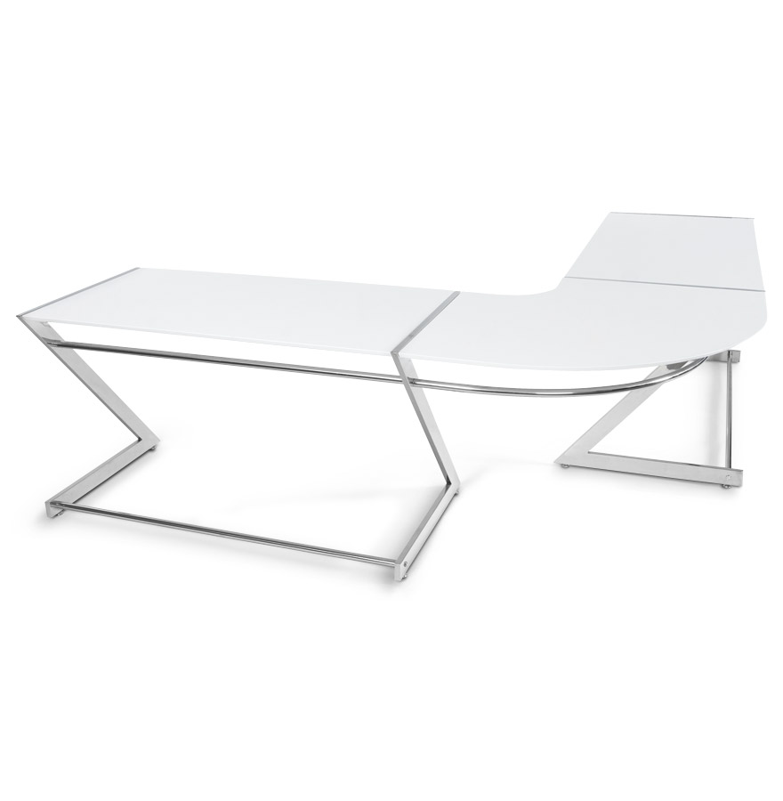 zeta white newsite 01 1 - Bureau d´angle ´ZETA´ en bois blanc design (angle au choix)