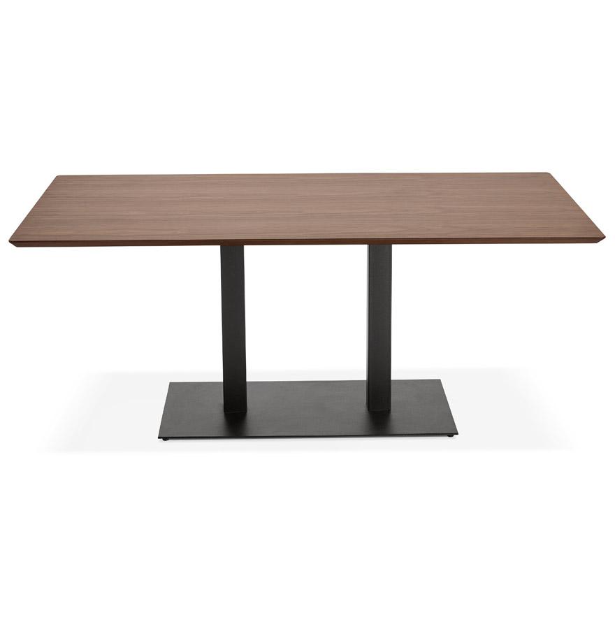 vergadertafel zumba met notenhouten afwerking 180x90 cm. Black Bedroom Furniture Sets. Home Design Ideas