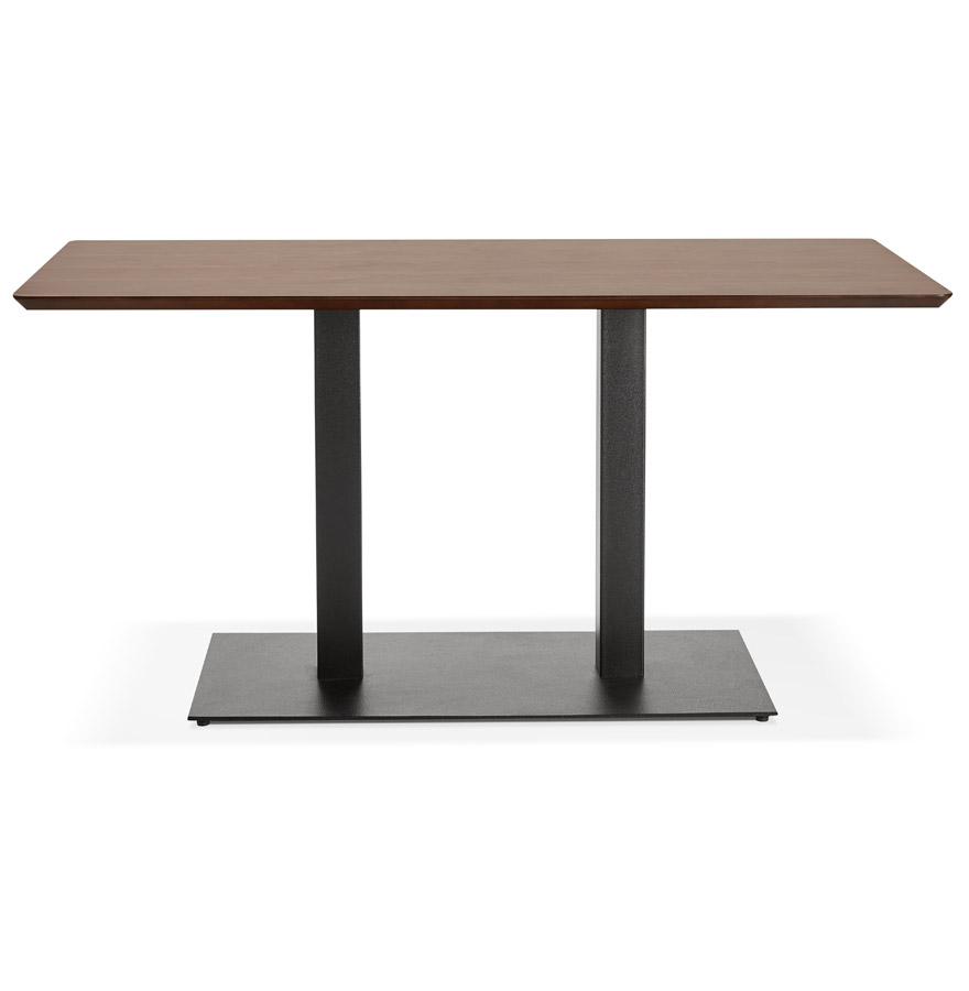 Table / bureau design ´ZUMBA´ en bois finition Noyer - 150x70 cm