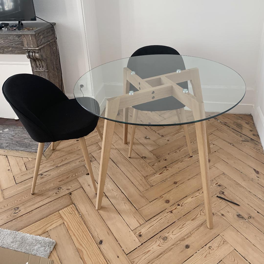 Table ronde ANGELA - Alterego Design - Photo 1