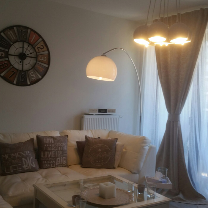 Lampadaire en arc BIG BOW XL - Photo 1