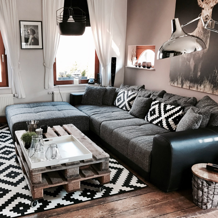 Canapé droit BYOUTY - Alterego Design - Photo 5