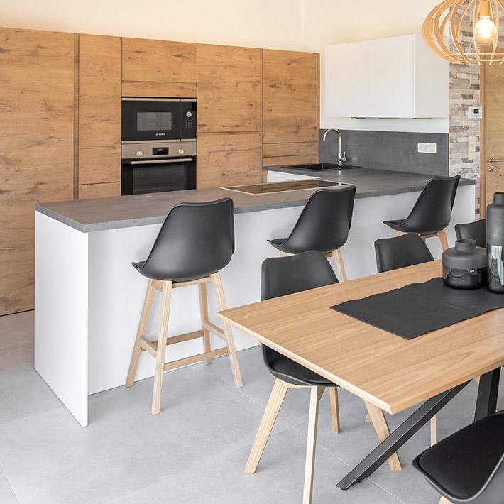CAMILA MINI halfhoge kruk - Alterego Design - Foto 5