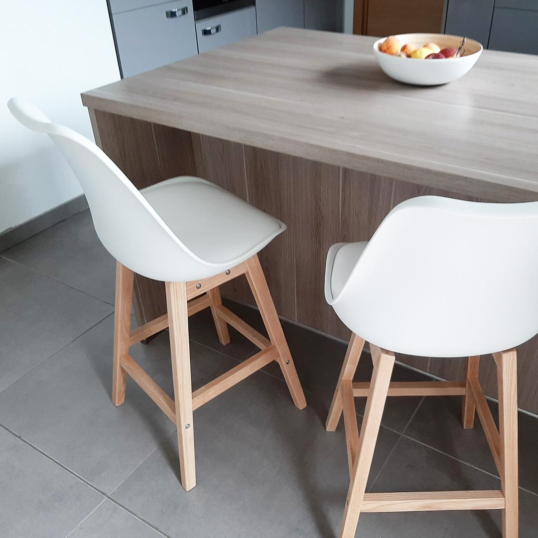 CAMILA MINI halfhoge kruk - Alterego Design - Foto 6