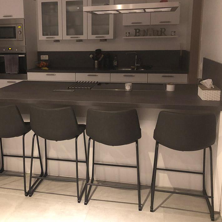 Halfhoge kruk CHERIF MINI - Alterego Design - Foto 1
