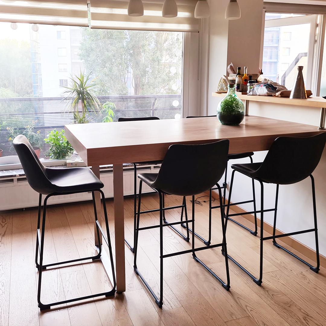 Halfhoge kruk CHERIF MINI - Alterego Design - Foto 5