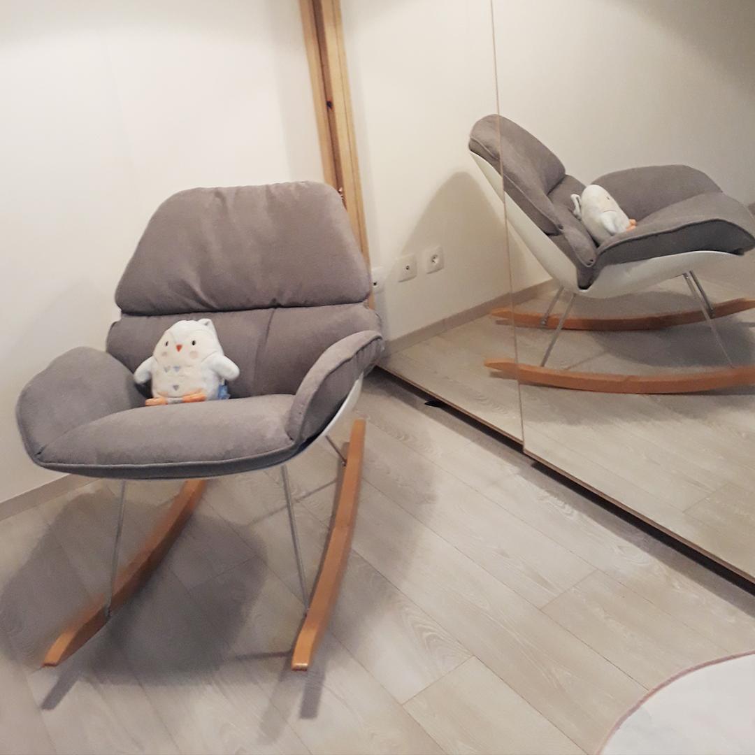 Fauteuil à bascule CHILY - Alterego Design - Photo 2