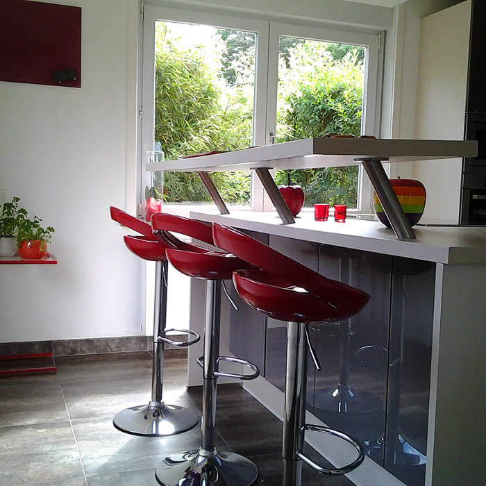 Tabouret de bar COMET - Alterego Design - Photo 5