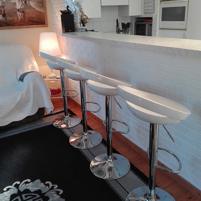 Tabouret de bar COMET - Alterego Design - Photo 4