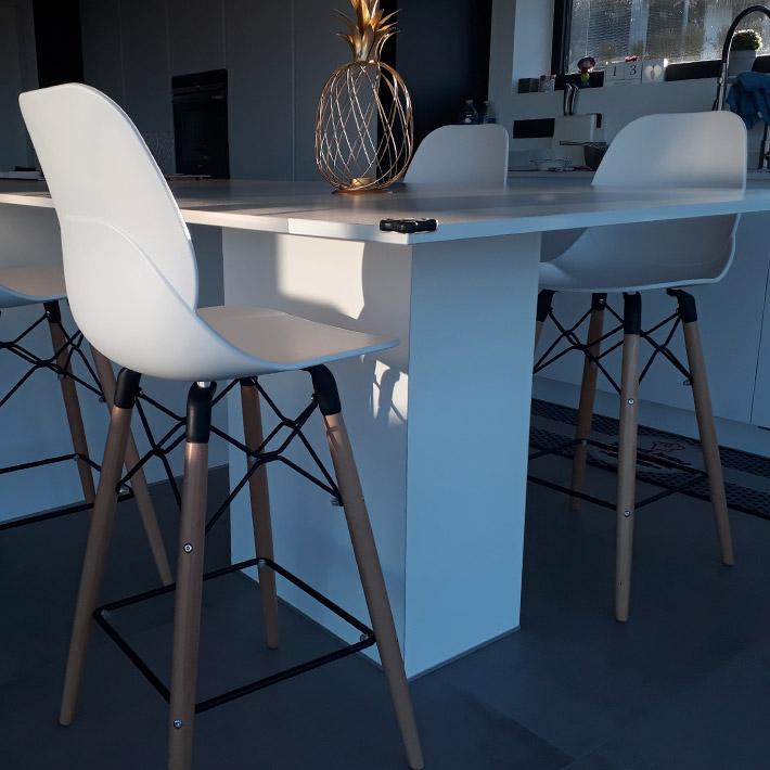 COSMIK MINI halfhoge kruk - Alterego Design - Foto 1