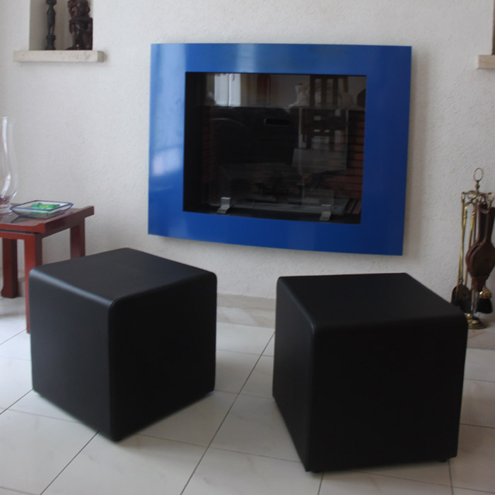 Pouf de salon CUBE - Alterego Design - Photo 6