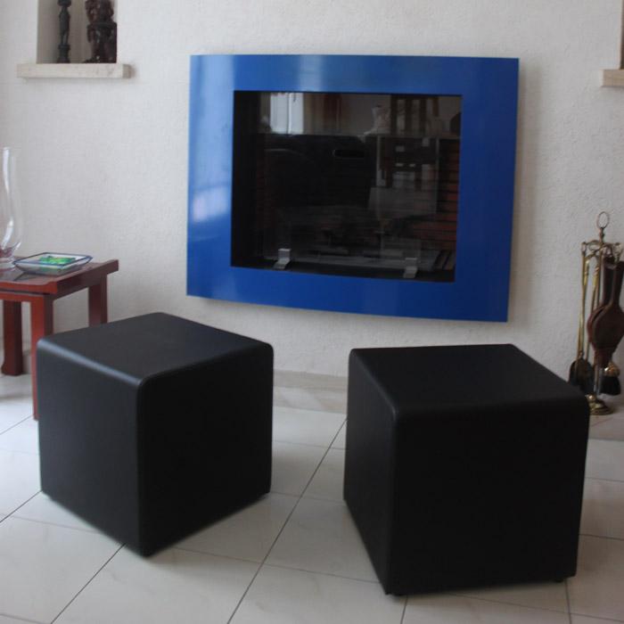 Pouf de salon CUBE - Alterego Design - Photo 6
