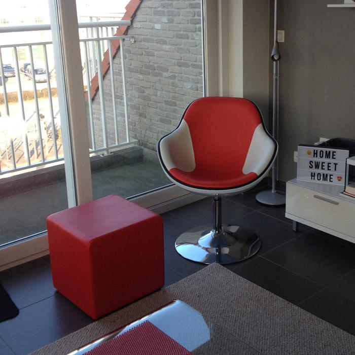 Pouf de salon CUBE - Alterego Design - Photo 7