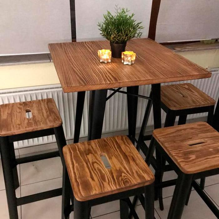 Table haute DARIUS - Alterego Design - Photo 1