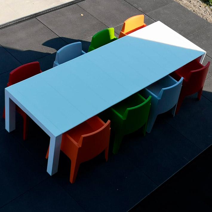 Table de jardin ELASTIK - Alterego Design - Photo 1